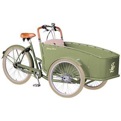 Rower Transportowy Johnny Loco Lima. Ciekawy design połączony z komfortem i przyjemnością płynącą podczas jazdy. http://damelo.pl/rowery-miejskie-transportowe/424-rower-transportowy-johnny-loco-lima.html