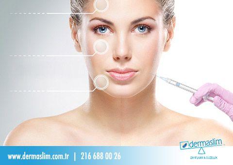 Daha genç, daha doğal, daha sağlıklı görünen bir yüze  botoks uygulaması sayesinde sahip olabilirsiniz! #botoks #estetik #güzellik