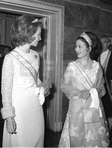 royalwatcher: Queen Sofia of Spain and then Crown Princess (now Empress) Michiko of Japan,