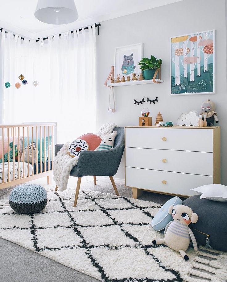 chambre bébé scandinave #scandinave #deco – Aziliz B