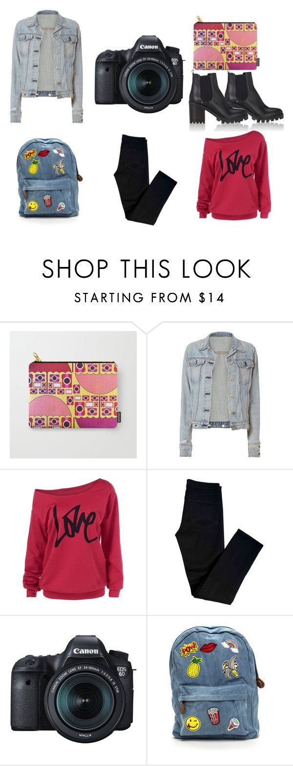 """""""Camera outfit"""" by cocodes on Polyvore featuring rag & bone, J Brand, Eos, Barneys New York, casual, camera and photographer"""