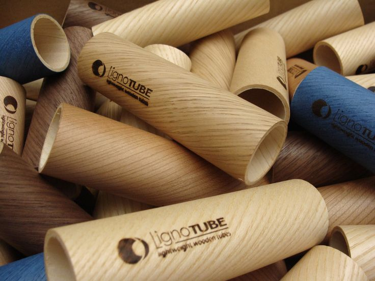 LignoTUBE: mixed collection of wooden tubes