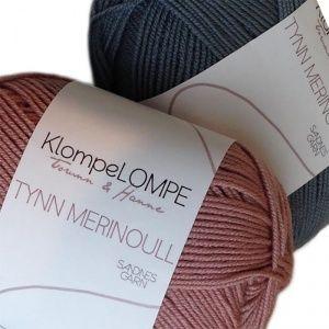 SANDNES KlompeLOMPE Tynn Merinoull