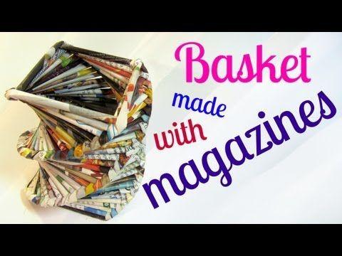 Il video tutorial di oggi, ci mostra, passo passo, come riciclare la carta, in particolare le riviste che circolano per casa e finiscono poi nell'immondizia.