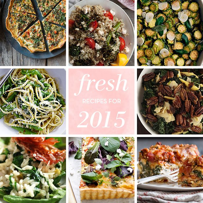 10 Fresh, Healthy Recipes for The New Year