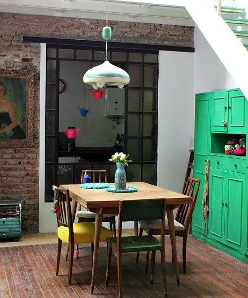 meubles de cuisines peint