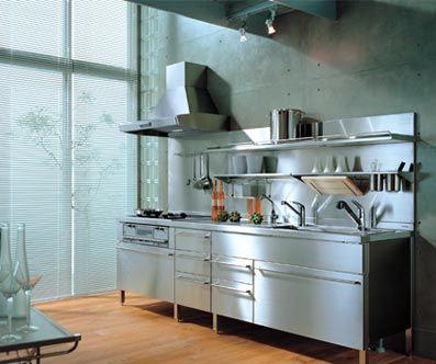 汚れやキズが付きにくいステンレスキッチンです。お手入れも楽チン。 : 参考にしたいキッチンリフォーム事例まとめ - NAVER まとめ