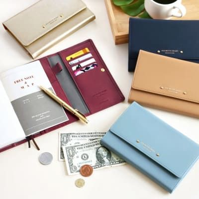 Pochette Leather Diary Wallet v2
