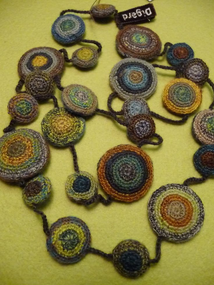 Sophie Digard`s necklace- circles