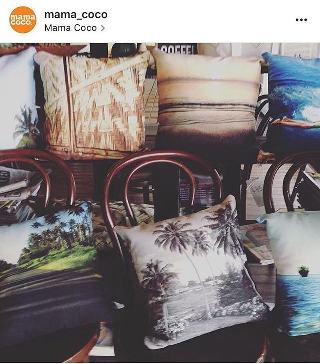 In Cairns? Get your #baimikisim cushion covers at @mama_coco! #wantoks #cairns . . . #repost **📷by #mamacoco