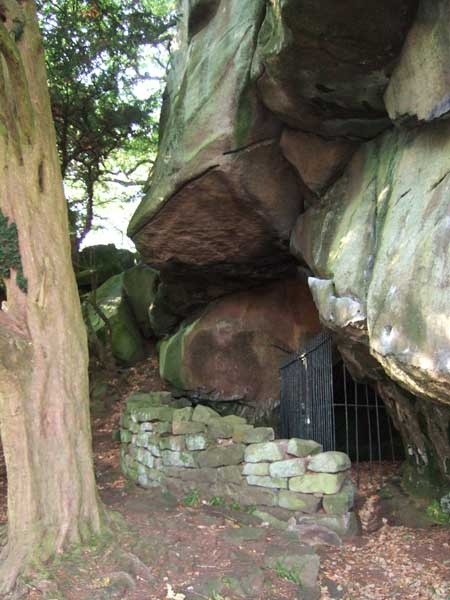 Hermits cave from Birchover