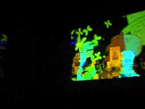 Sala Garcìa M. Museo del caribe. Referente diseño para la experiencia 2. Esta hermosa muestra audiovisual, se toma como referente para el manejo del espacio en cuanto a la proyección de un proyecto audiovisual. Referente de animación.