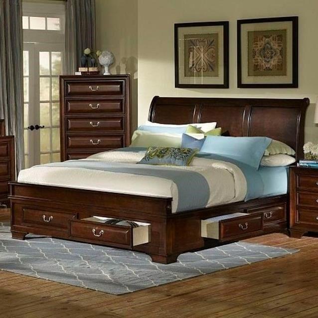 shop for the lifestyle king storage bed at royal furniture your memphis nashville jackson birmingham furniture u0026 mattress store