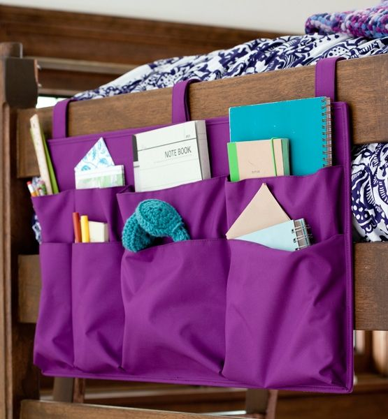 Storage For The End Of Your Dorm Bed Great For Adding Extra Storage To Your Room At College Pbteen