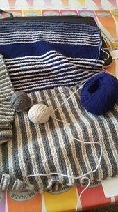 Ravelry: silviaknit63's royally striped