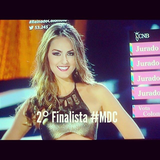 @mariacamilasoleibe  #SrtaAtlantico #Finalista #MissColombia2015 #MiDiosaCoronada by mundodemisses_col