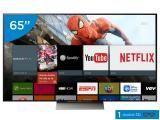 """Smart TV LED 65"""" Sony 4K/Ultra HD 3D XBR-65X935D - 1 Óculos Wi-Fi 4 HDMI 3 USB"""