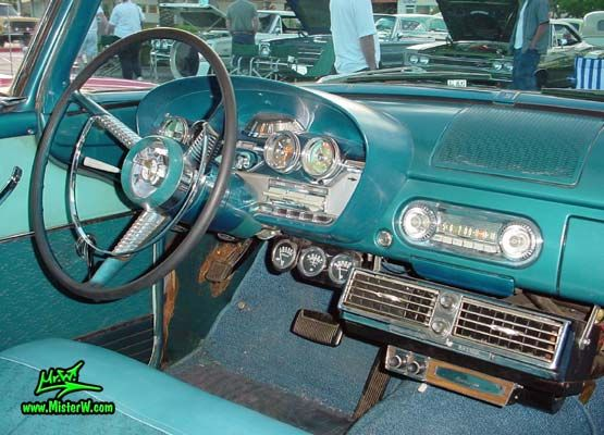 1958 Edsel Ranger 2 Door Sedan  - 1958 Edsel Ranger Interior