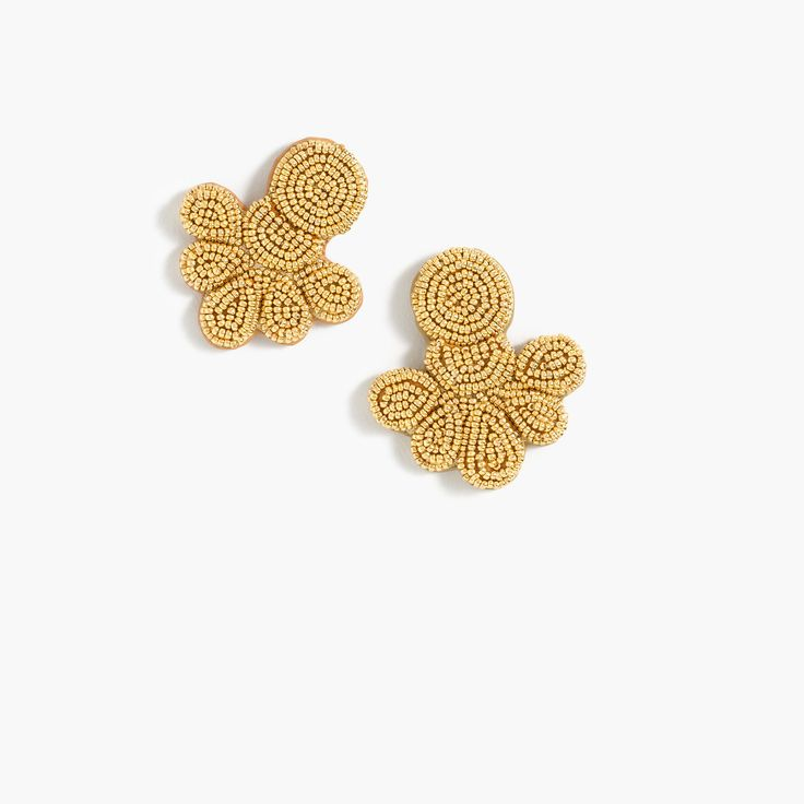 Shop the Beaded Flutter Earrings at JCrew.com and see the entire selection of Women's Earrings.