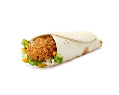 Homemade McDonald's Ranch Snack Wrap Recipe
