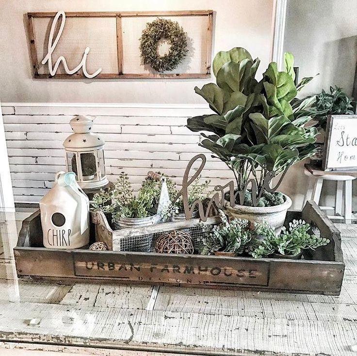 Farmhouse Style Decorating Chic Urban Ideas Table Decor Living Rooms