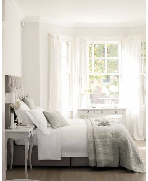 White, gray... Relaxing.