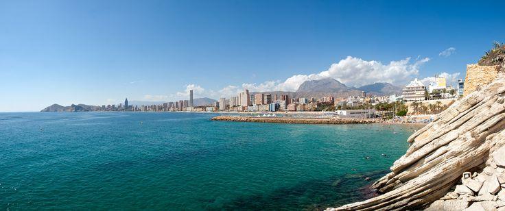 Un sueño de #verano de sol, arena y mar - #Spain #Espana #Benidorm
