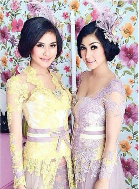 Modern Kebaya (A Traditional Indonesian clothing) by Indonesian Designer ANNE AVANTIE