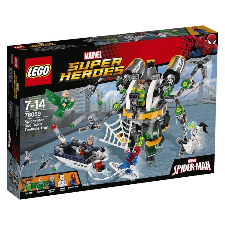 #Lego #LEGO® #76059   LEGO Marvel Super Heroes Spider-Man: Doc Ocks Tentakelfalle  Comics Junge Multi     Hier klicken, um weiterzulesen.  Ihr Onlineshop in #Zürich #Bern #Basel #Genf #St.Gallen