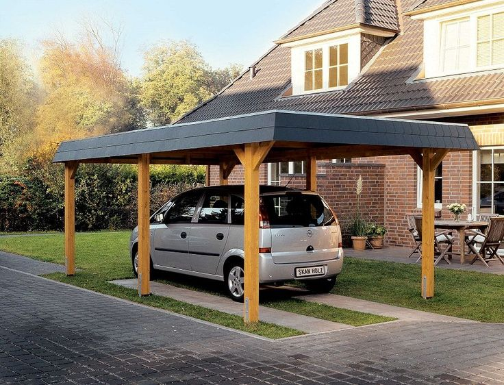 Großartig Best 25+ Carport mit abstellraum ideas only on Pinterest  IQ72