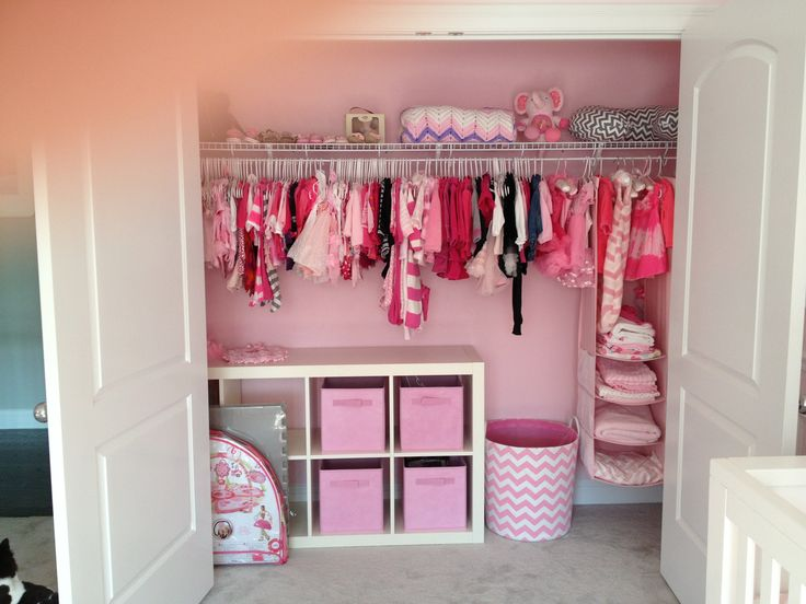 Paint the inside of your closet for a special touch!