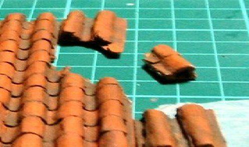 Hacer tejas con cartón corrugado