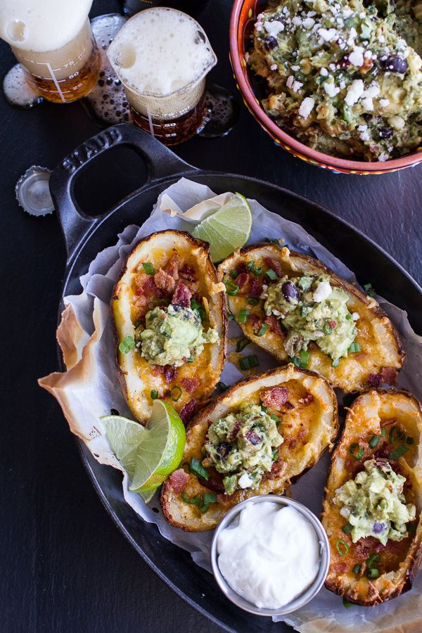 Fully Loaded Potato Skins with Chipotle Southwest | Half Baked Harvest