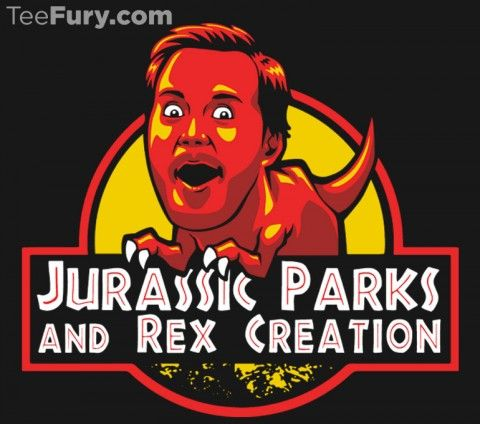 Jurassic Parks and Rex Creation TEE BY TABNERS