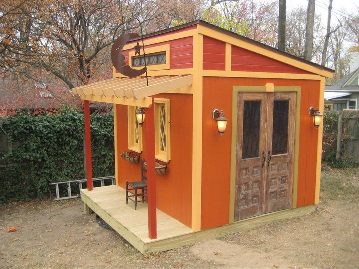 Cute Backyard Sheds : Such a cute shed  Whimsy in the Garden  Pinterest