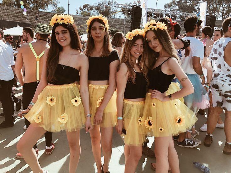 S U N F L O W E R S 🌻 #purim #costume #sunflowers #yellow - #costume
