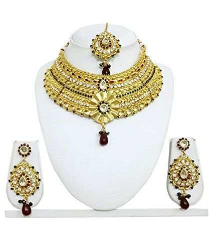 Dazling Bollywood Style Gold Plated Red Pearls Green Cz B... https://www.amazon.ca/dp/B01N78F9B1/ref=cm_sw_r_pi_dp_x_rxRNyb810PSN1