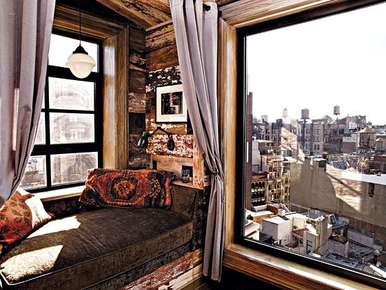 Zach Braff created rustic warmth in his NYC apartment (in ...
