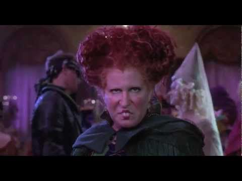 I Put A Spell On You - Bette Midler - Hocus Pocus 1993 - HD edited - YouTube
