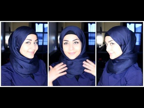 HIJAB TUTORIALS | MY 3 MOST WORN STYLES - YouTube