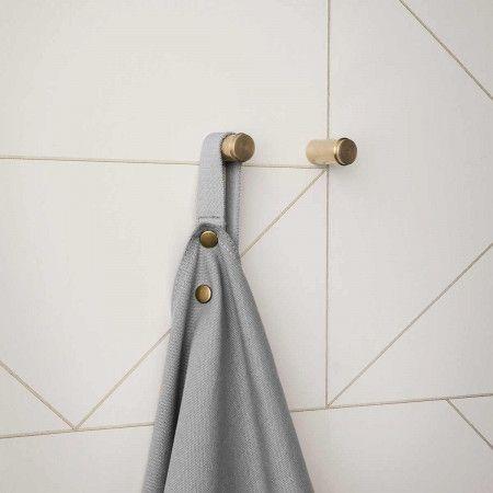 Ferm Living, Lines Wallpaper, Off White at Dotmaison