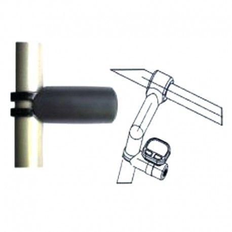 Adaptateur pour compteur vélo avec collier
