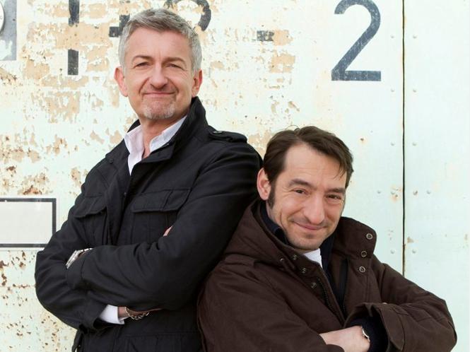 Ritter & Stark: Dominic Raacke (li.) und Boris Aljinovic