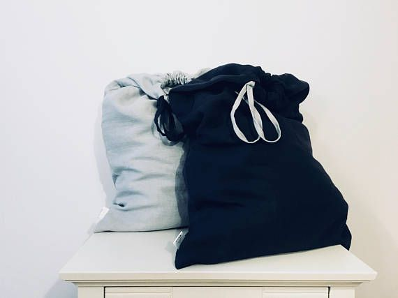 Set Of 2 Large Laundry Bags Darks And Lights Laundry Basket