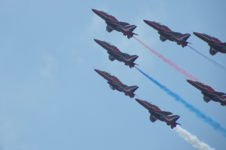 Red Arrows  - photography by me