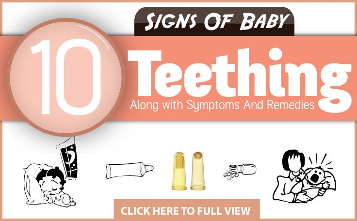 Baby Teething Along