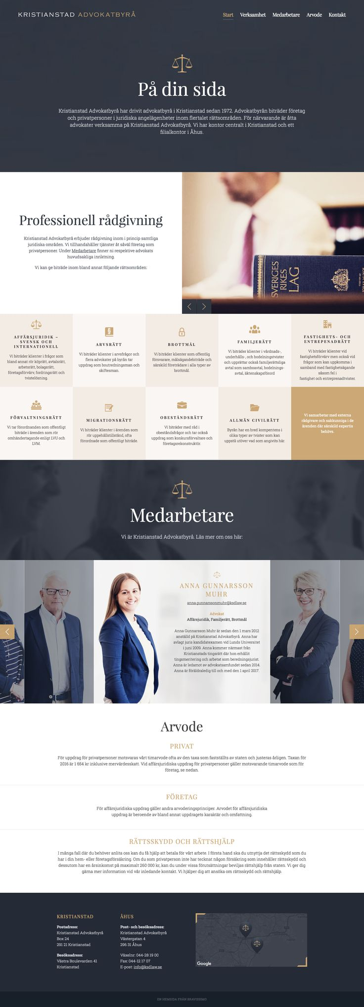 Kristianstad Attorneys Lawyer Website Design #lawyerwebsites #lawfirmwebsite…