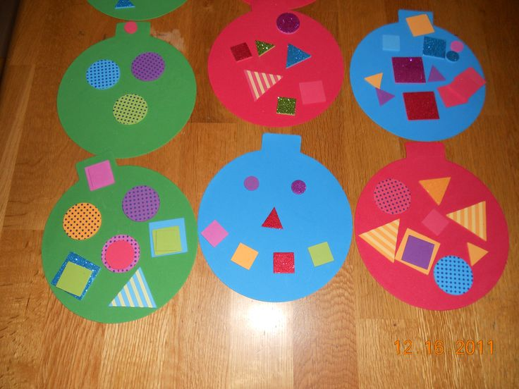 Homemade Christmas Decorations For Preschoolers : Best ideas about easy christmas ornaments on