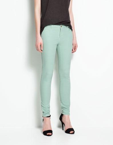 Bekannt Les 25 meilleures idées de la catégorie Pantalon couleur vert  DG96
