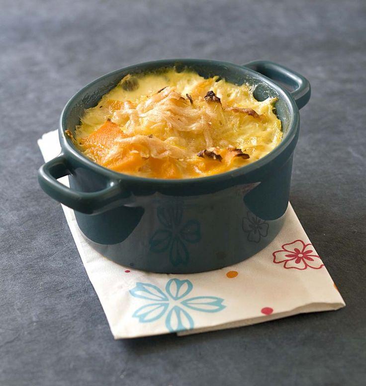 Tian de potimarron à l'oignon - Ôdélices : Recettes de cuisine faciles et originales !